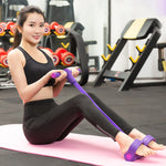 Weight Loss Fitness Equipment 4 tube Tension Trainer Sports - systematicshop.com