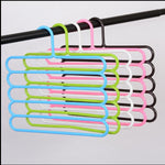 5 Layers MultiFunctional Pants Hangers - systematicshop.com