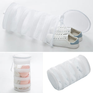 Zipper Closure Machine Shoe Wash Bag Washing Net Polyester - systematicshop.com