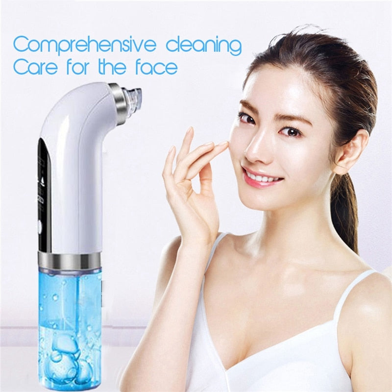 Electric Facial Cleaning Vacuum  Blackhead Acne Remover