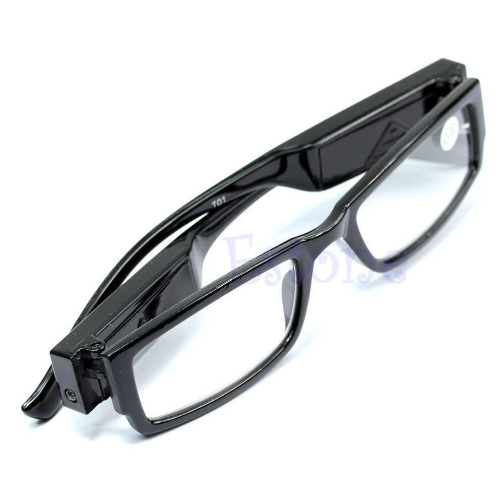 Multi Strength LED Reading Eye Glasses Magnifier Light UP - systematicshop.com
