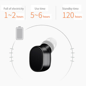 Mini Bluetooth Wireless Headphones Earphone With Built-in HD Mic Magnetic USB Charging - systematicshop.com
