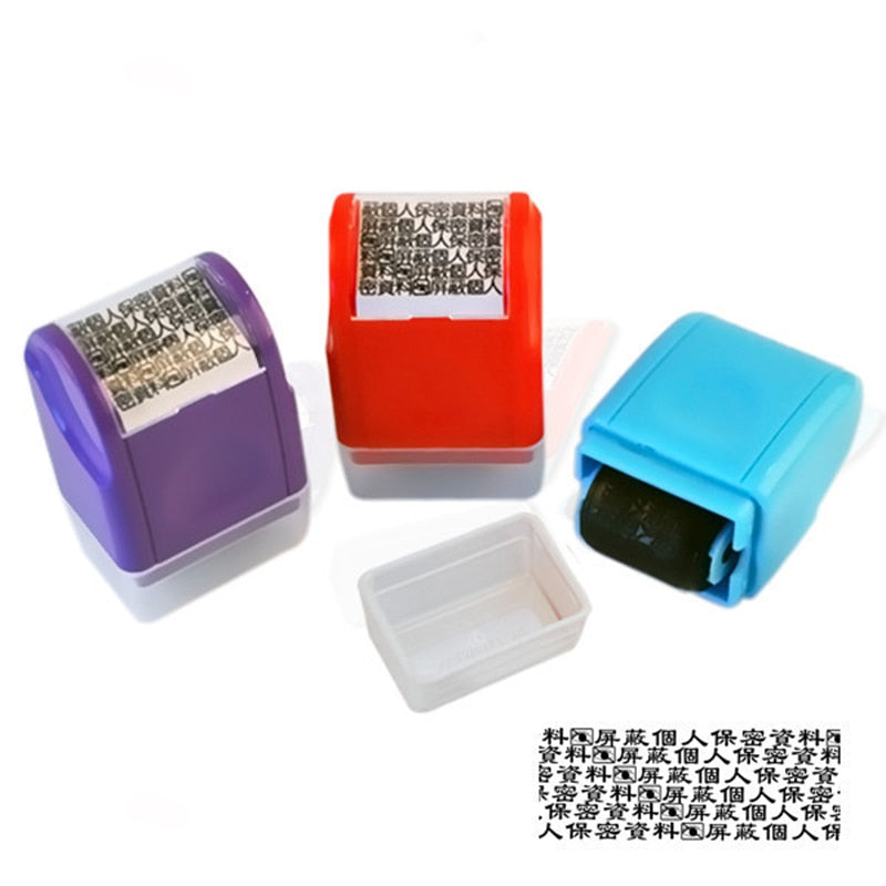 Portable Mini Roller Self-Inking Stamps - systematicshop.com