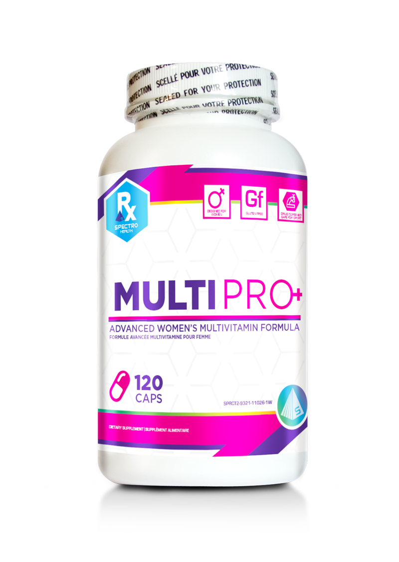 120 Caps of MultiPro for Women