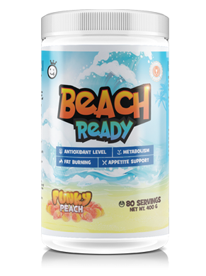 80 servings of beach ready by yummy sports