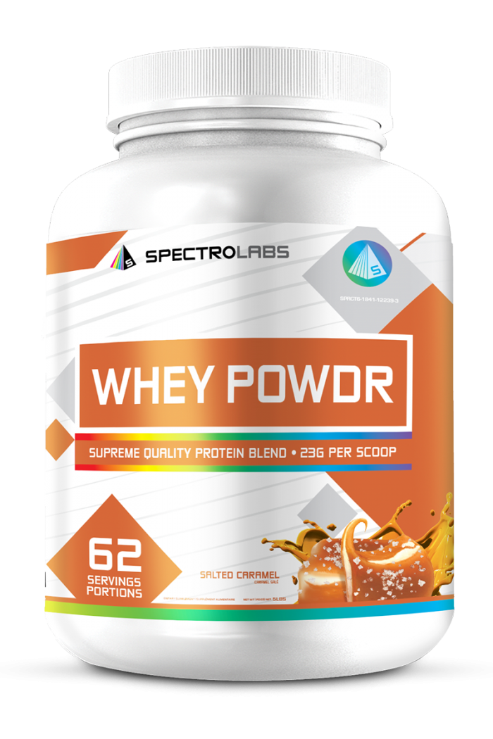 62 Servings of Whey Protein by Spectro Supplements