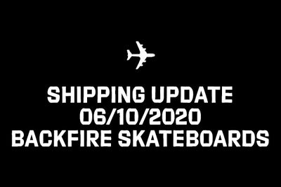 Shipping Update 6/10/2020
