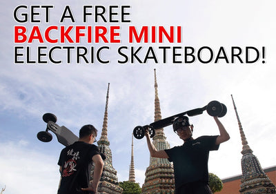 Get a Free Backfire Mini Electric Skateboard ? How it works?