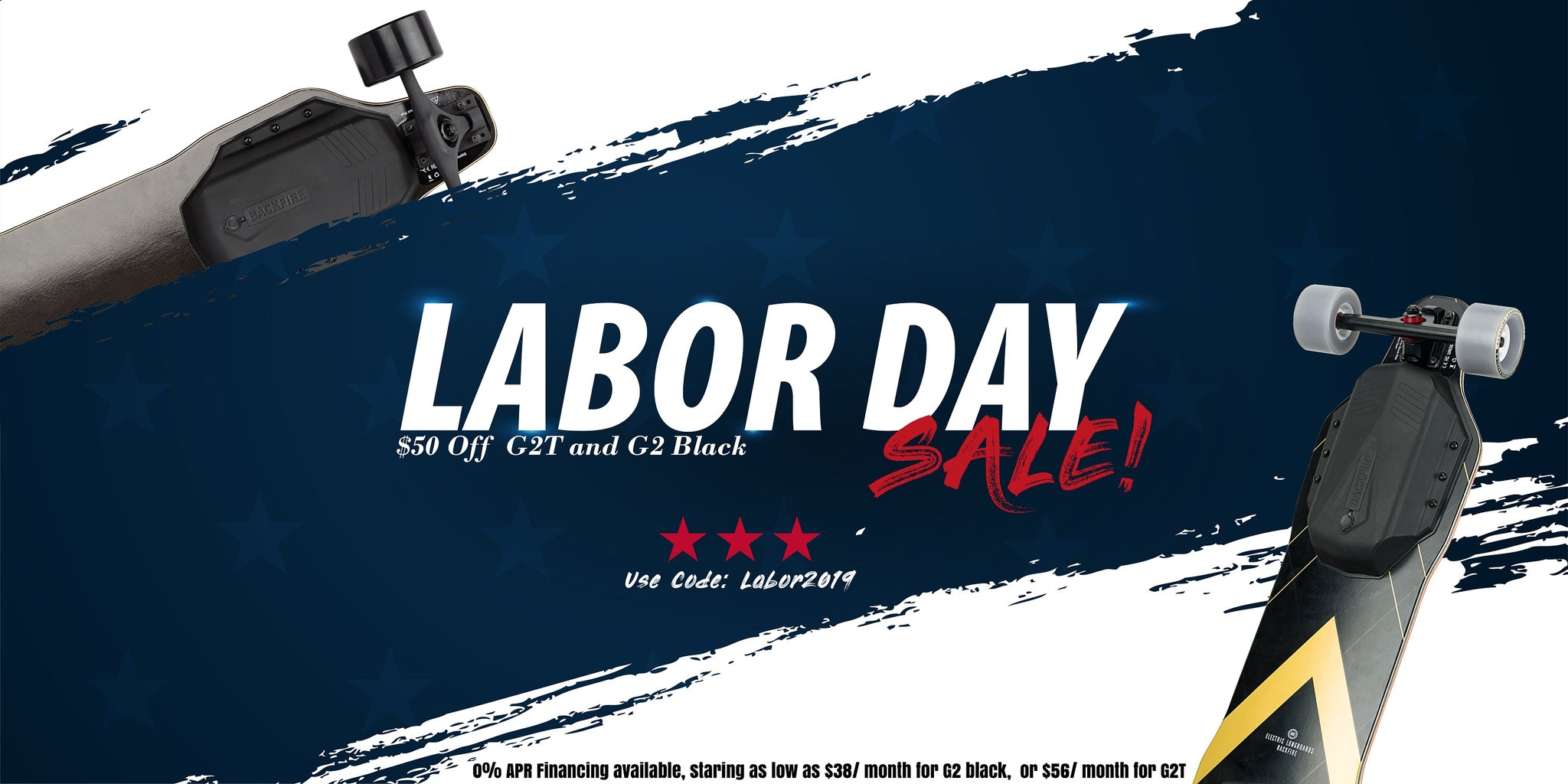 Backfire Labor Day Sale