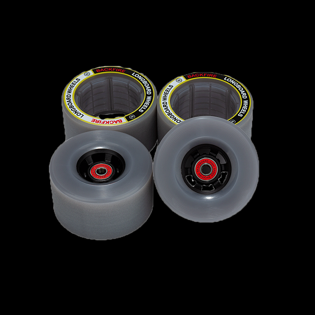 96 & 85MM Wheels for Backfire G3 Plus, G3 ,Mini, G2 BLACK &Galaxy 2020