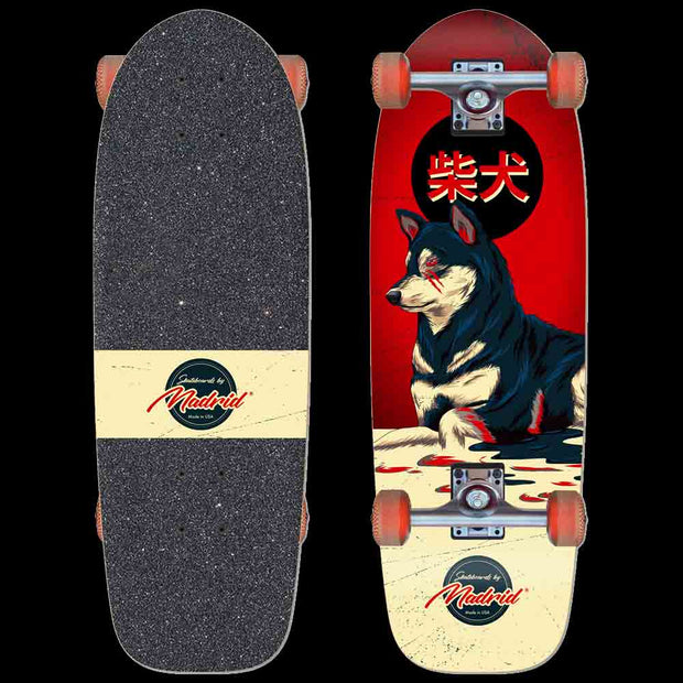 "Madrid Marty 29.25"" Shiba Complete Cruiser Board-Made in USA"