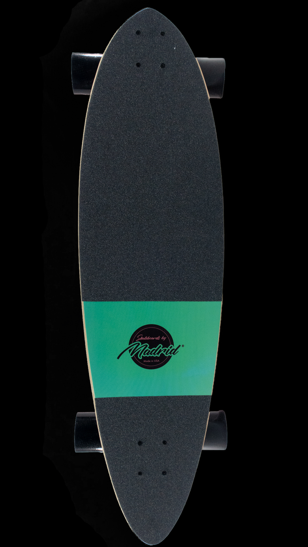 "Backfire Blunt 36"" Felis Cat Longboard-Made in USA"