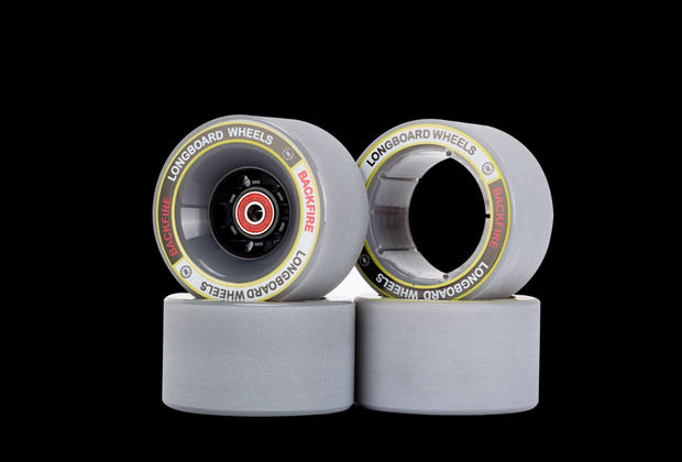 96 & 85MM Wheels for Backfire G3 Plus, G3 and G2 BLACK