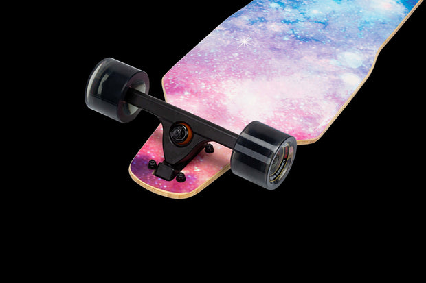 Backfire Drop through Non-Electric Longboard- Galaxy