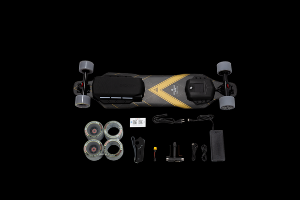 Backfire G3 Plus with Carbon Fiber Deck and Ultra Long Range
