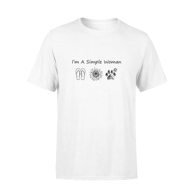 I'm a simple woman tshirt - gifts for camping lovers