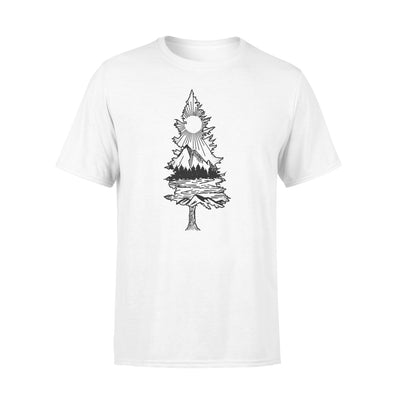 LANDSCAPE TREE SHIRT - GIFT FOR CAMPING LOVERS