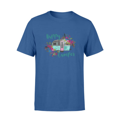 Happy camper tshirt - gifts for camping lovers