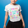 100th day of school - Counting hash marks 100th days teacher student t-shirt - GST