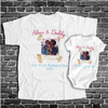 Personalized Picture Our First Father's Day Daddy And Me Matching Shirts - Dad And Baby Gift Gsge