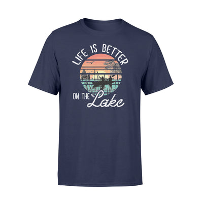 Life is better on the lake tshirt - gifts for camping lovers