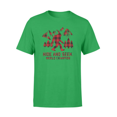 Hide and seek world champion tshirt - gifts for camping lovers