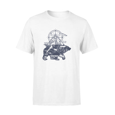 Bear tshirt - gifts for camping lovers
