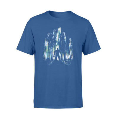 Bigfoot tshirt - gifts for camping lovers