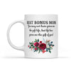 Gift For Bonus Mom Life Has Given Me The Gift Of You Mug