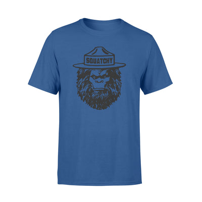 Bigfoot squatchy tshirt - gifts for camping lovers