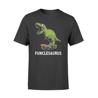 Funclesaurus tshirt - gifts for uncle - Standard T-shirt