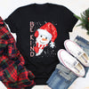 Be kind snowman funny autism awareness santa hat bullying christmas t-shirt, teacher appreciation gift, christmas gifts for teachers, teacher christmas gifts, best teacher gifts for christmas - GST