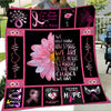 Daisy Flower We Are Strong Blanket Gift For Breast Cancer Awareness Month