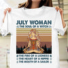 The Soul of a witch hippie July woman yoga shirt Gsge - Standard T-shirt