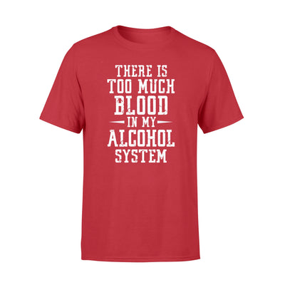 Alcohol system shirt