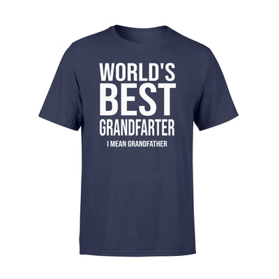 World's Best T Shirt - Gifts For Grandpa