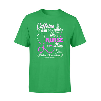 Caffeine shirt - gifts for nurse