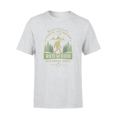 Home of the bigfoot tshirt - gifts for camping lovers