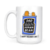 Father's Day Mug Dad Are Favourite  Human Bean Gift For Dad