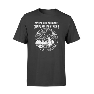 Father And Daughter Camping Parters Tshirt - Gifts For Dad