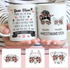 Personalized Mother's Day Gift For Dog Mom Hashtag Dog Mom Life Mug