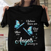 Personalized angels among us memorial shirt Gsge