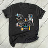 Beer Brewing Schematic Shirt - Gst