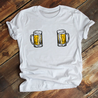 Boobies beer funny st patricks day 2020 shamrock shirt - GST