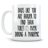 Dad's Harder To Find Than Toilet Paper Funny Mug Gift For Dad