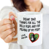 Personalized dog dad mug gifts for dog lovers - GST