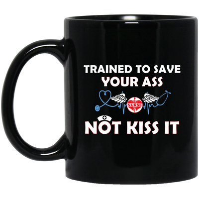Trained to save mug - gifts for nurse