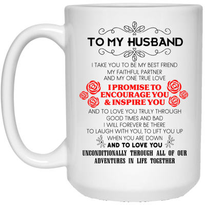 To My Husband Take You To Be My Best Friend Mug - Gifts For Husband