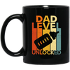 Dad Level Unlocked Mug - Gift For Dad
