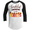 Qct - Thankful grandma - Raglan Shirt